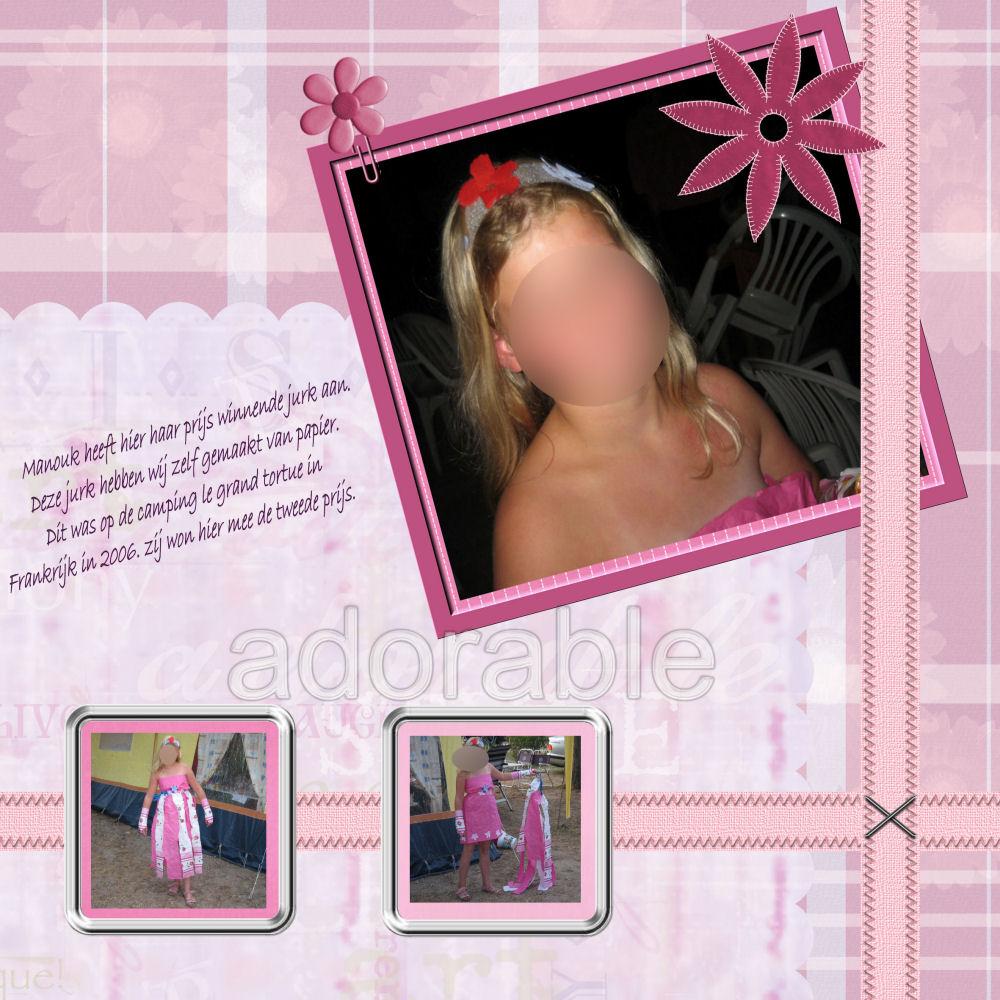 U kijkt naar foto's van het artikel: Mijn digitale lay outs